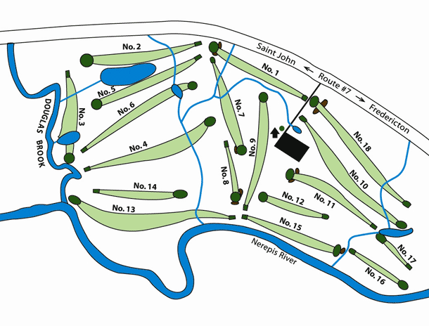 Course Map & Description - Welsford Golf Course on golf packages, modern art map, volleyball map, golf holidays, us road map, civilization world map, golf tours, golf real estate, football soccer map,